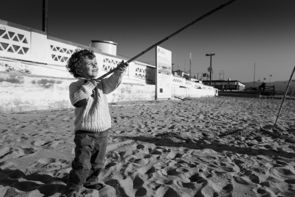 When i grow up i want to be a fisherman